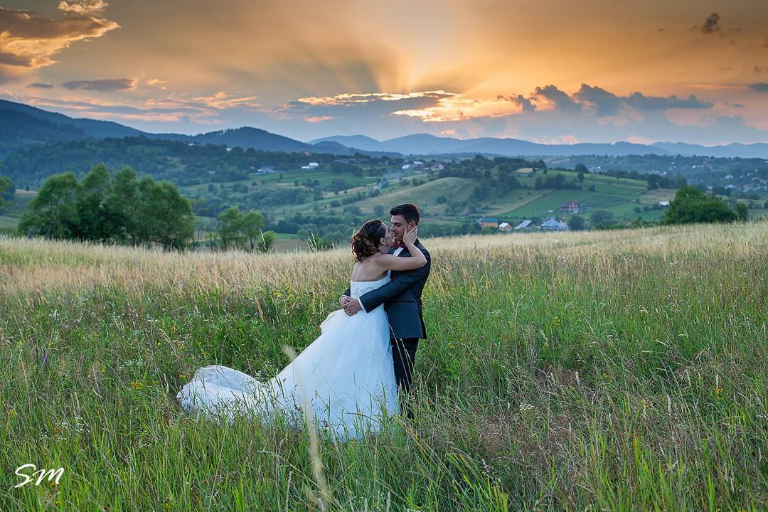 Fotografii dupa nunta cu Alin si Carmen