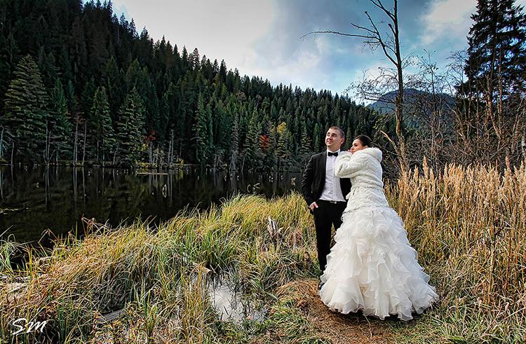 Trash the Dress cu Gabi și Huanita la Lacul Roșu