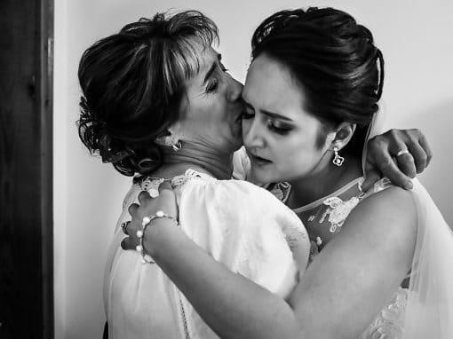 George & Georgiana – wedding day